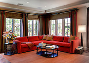 Interior Living Room Stock Photo