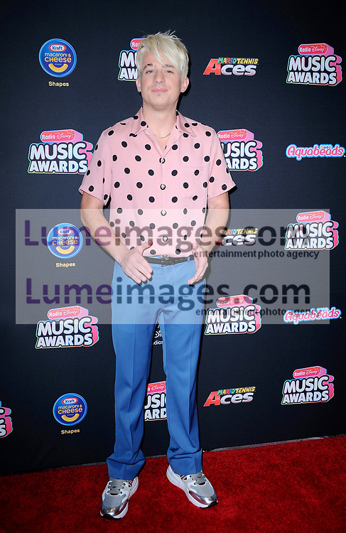 Charlie Puth at the 2018 Radio Disney Music Awards held at the Loews Hotel in Hollywood, USA on June 22, 2018.