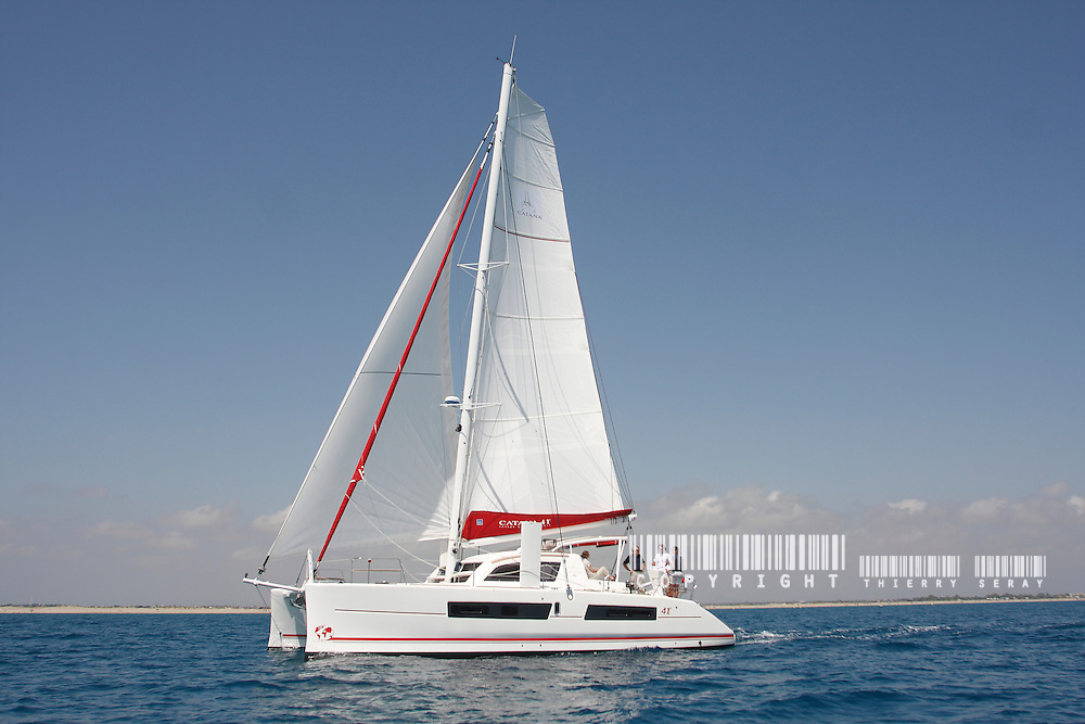 MULTIHULLS : CATANA 41. NEW 2010
