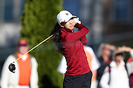 17 April 2016: Boston College's Ailin Li. The Second Round of the Atlantic Coast Conference's Women's Golf Championship was held at Sedgefield Country Club in Greensboro, North Carolina.