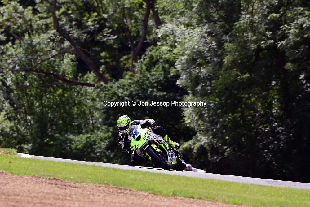 #88 Josh Daley Wigan Josh Daley Racing Kawasaki 600  Dickies British Supersport Championship