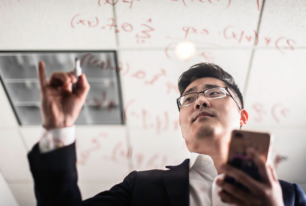 WASHINGTON, DC -- 12/6/17 -- Tim Hwang is the founder and CEO of FiscalNote which uses AI, analytics and natural language processing to automate and analyze government tasks and data…by André Chung #_AC16175