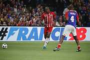 Usain Bolt (FIFA 98), Patrick Vieira (France 98) during the 2018 Friendly Game football match between France 98 and FIFA 98 on June 12, 2018 at U Arena in Nanterre near Paris, France - Photo Stephane Allaman / ProSportsImages / DPPI