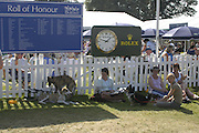 The Land Rover Burghley Horse Trials. 4 September. ONE TIME USE ONLY - DO NOT ARCHIVE  © Copyright Photograph by Dafydd Jones 66 Stockwell Park Rd. London SW9 0DA Tel 020 7733 0108 www.dafjones.com