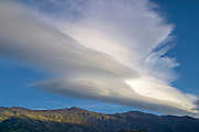 cloud formation over The Horn Range NZ