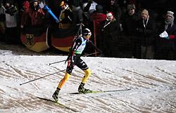 04.01.2012, DKB-Ski-ARENA, Oberhof, GER, E.ON IBU Weltcup Biathlon 2012, Staffel Frauen, im Bild Tina Bachmann (GER)  .// during relay Ladies of E.ON IBU World Cup Biathlon, Thüringen, Germany on 2012/01/04. EXPA Pictures © 2012, PhotoCredit: EXPA/ nph/ Hessland..***** ATTENTION - OUT OF GER, CRO *****