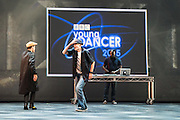 The BBC presents the Grand Final of  BBC Young Dancer 2015 at Sadler's Wells Theatre, London. Picture features: Harry Barnes with Kieran Lai