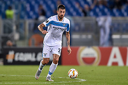 September 20, 2018 - Rome, Italy - Francesco Acerbi of Lazio during the UEFA Europa League Group Stage match between Lazio and Apollon Limassol at Stadio Olimpico, Rome, Italy on 20 September 2018. (Credit Image: © Giuseppe Maffia/NurPhoto/ZUMA Press)
