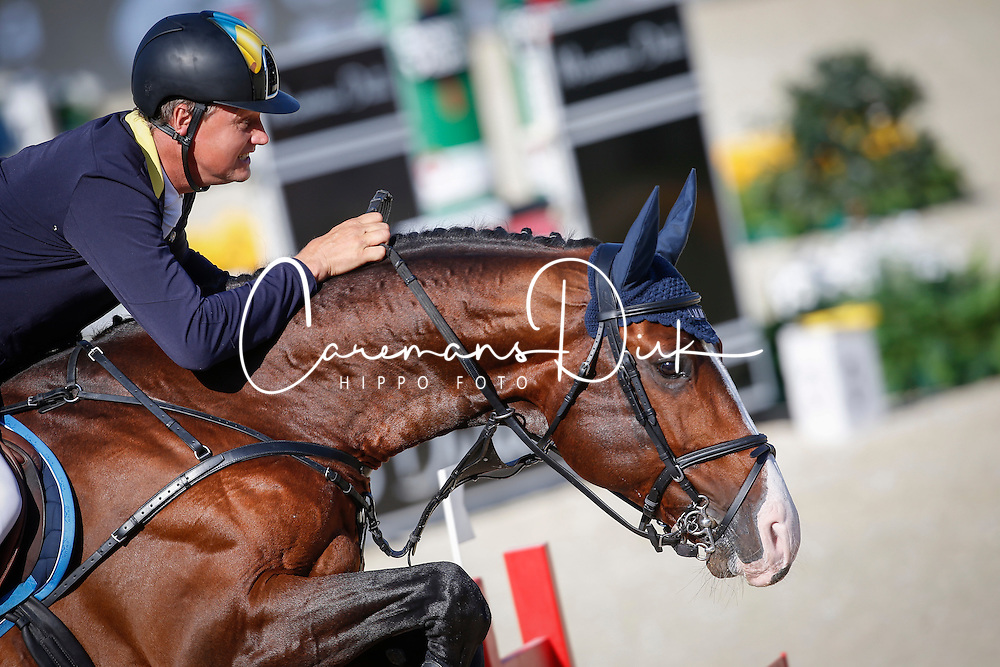 Kirchhoff Ulrich (GER) - Cabachon<br /> Class 2 - La Vanguardia Trophy<br /> Furusiyya FEI Nations Cup Jumping Final<br /> CSIO Barcelona 2013<br /> © Dirk Caremans