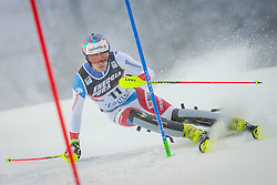"Daniel Yule (SUI) during FIS Alpine Ski World Cup 2016/17 Men's Slalom race named ""Snow Queen Trophy 2017"", on January 5, 2017 in Course Crveni Spust at Sljeme hill, Zagreb, Croatia. Photo by Ziga Zupan / Sportida"