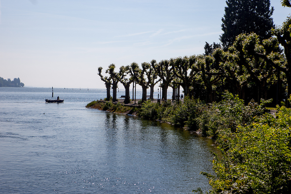 Lake Constance (Bodensee).