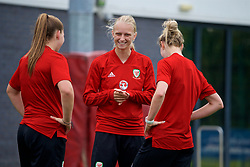 NEWPORT, WALES - Tuesday, June 5, 2018: Wales' Elise Hughes during a training session at Dragon Park ahead of the FIFA Women's World Cup 2019 Qualifying Round Group 1 match against Bosnia and Herzegovina. (Pic by David Rawcliffe/Propaganda)