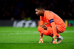 Mike Maignan of Lille  - Mandatory by-line: Ryan Hiscott/JMP - 10/12/2019 - FOOTBALL - Stamford Bridge - London, England - Chelsea v Lille - UEFA Champions League group stage