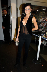 LADY ELOISE ANSON at a party to celebrate the launch of a range of leather accessories designed by Giles Deacon for Mulberry held at Harvey Nichols, Knightsbridge, London on 30th October 2007.<br /><br />NON EXCLUSIVE - WORLD RIGHTS