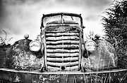 An old abandoned truck along Route 66. Missoula Photographer