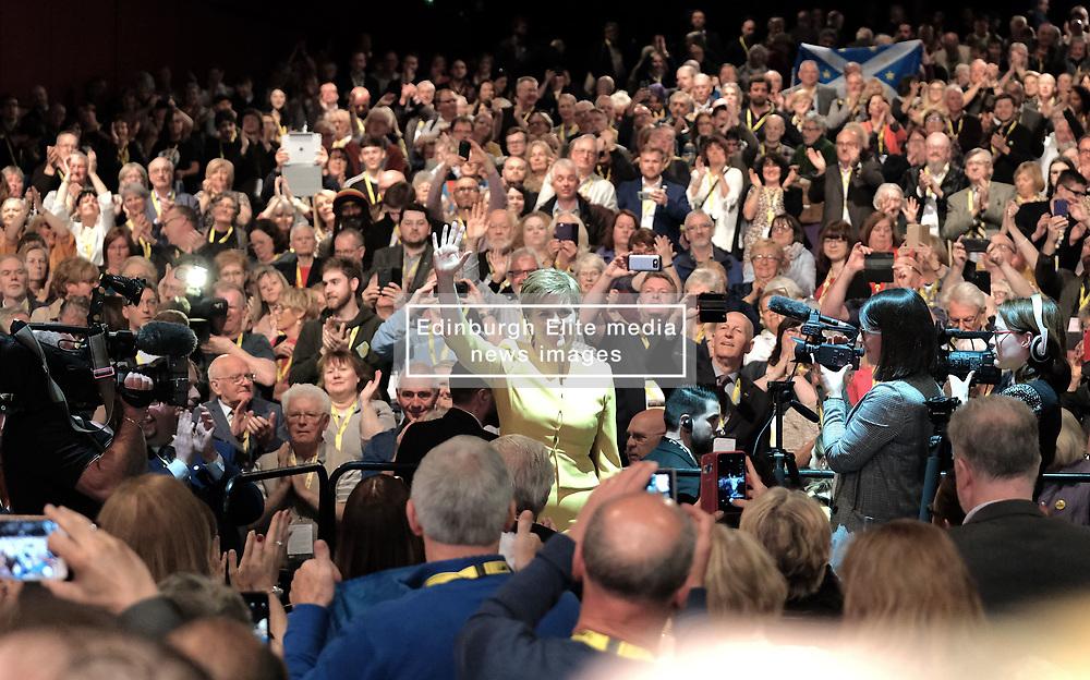 SNP Spring Conference, Sunday 28th April 2019<br /> <br /> Pictured: First Minister Nicola Sturgeon<br /> <br /> Alex Todd | Edinburgh Elite media