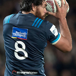 Steven Luatua, Eden Park, Auckland game 2 of the British and Irish Lions 2017 Tour of New Zealand,The match between the Auckland Blues and British and Irish Lions, Wednesday 7th June 2017   <br /> <br /> (Photo by Kevin Booth Steve Haag Sports)<br /> <br /> Images for social media must have consent from Steve Haag