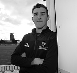 Somerset's Craig Overton poses for a picture.  - Mandatory byline: Alex Davidson/JMP - 11/02/2016 - CRICKET - The Cooper Associates County Ground -Taunton,England - Somerset CCC  Media access - Pre-Season