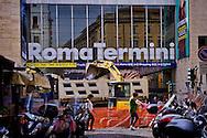 Roma 6 Ottobre 2015<br /> Il cantiere di Via Marsala per il restyling della Stazione Termini per il Giubileo Della Misericordia. Il costo dei lavori e di 4 milioni di euro e dovranno terminare entro l'inizio dell'Anno Santo, fissato per l'8 Dicembre.<br /> Rome October 6, 2015<br /> The construction of Via Marsala for the restyling of the Termini Station for the Jubilee Of Mercy. The cost of the work and of 4 million euro and must finish by the beginning of the Holy Year, set for December 8.