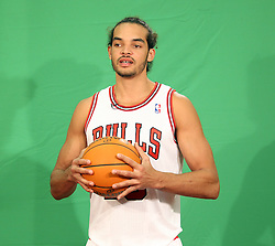 11.12.2011, The Berto Center, Deerfield, USA, NBA, Chicago Bulls Medien Tag, im Bild JOAKIM NOAH CHICAGO BULLS // during Chicago Bulls Media Day at the Berto Center, Deerfield, United Staates on 2011/12/11, POLAND OUT!!!. EXPA Pictures © 2011, PhotoCredit: EXPA/ Newspix/ Kamil Krzaczynski..***** ATTENTION - for AUT, SLO, CRO, SRB, SUI and SWE only *****