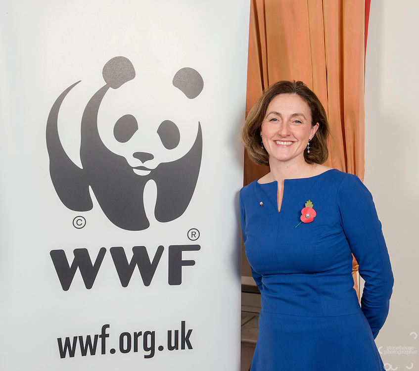 Sir Andrew Cahn at the Inaugural WWF Living Planet Lecture at The Royal Society, London. 3/11/2016