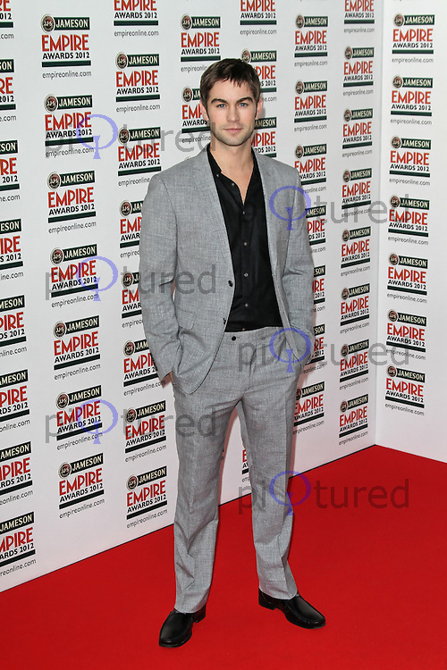 LONDON - MARCH 25: Chace Crawford attends the Jameson Empire Awards 2012 at the Grosvenor House Hotel, London, UK. March 25, 2012. (Photo by Richard Goldschmidt)