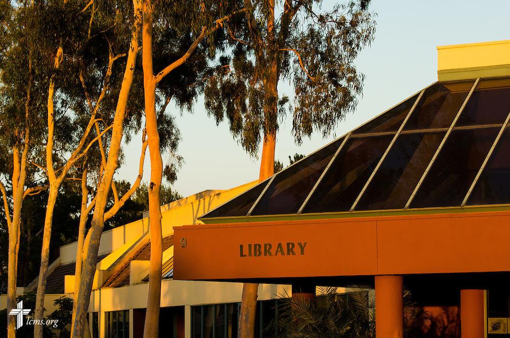 The library at Concordia University Irvine on Wednesday, July 9, 2014, in Irvine, Calif. LCMS Communications/Erik M. Lunsford