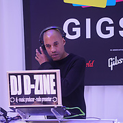 London, UK. 3rd September 2017. DJ D-Zine preforms the Mayor Of London Gigs at Westfield London.