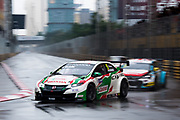 Norbert MICHELISZ, Castrol Honda WTC Team, Honda Civic WTCC<br /> 64th Macau Grand Prix. 15-19.11.2017.<br /> Suncity Group Macau Guia Race - FIA WTCC<br /> Macau Copyright Free Image for editorial use only