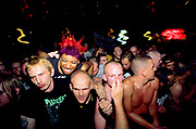 Punks at gig. london venues 1997-99