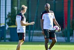 August 14, 2018 - Nice, France - Patrick Vieira (entraineur de l OGC Nice) - Kristian Wilson  (Credit Image: © Panoramic via ZUMA Press)