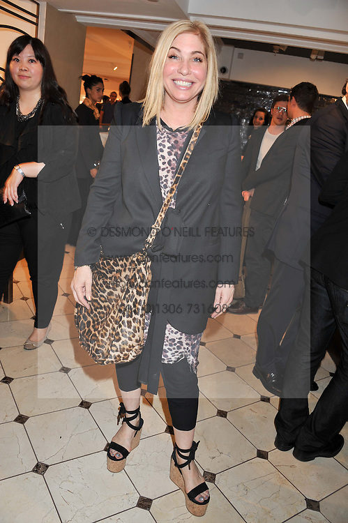 BRIX SMITH-START at a party to launch the Godiva Chocolate Cafe at Harrods, London held on 24th May 2012.