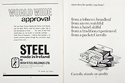 All Ireland Senior Hurling Championship Final,.04.09.1966, 09.04.1966, 4th September 1966,.Minor Cork v Wexford, .Senior Kilkenny v Cork, Cork 3-09 Kilkenny 1-10,..Steel made in Ireland by Irish Steel Holdings ltd, .Steelmakers, Rollers, Galvanisers, Haulbowline Cork, ..Carrolls, .