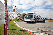 OCTA Bus Leaving Saddleback College Heading to San Clemente
