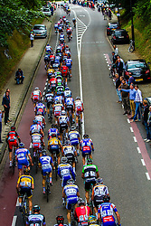 The bunch climbing the Cauberg, Stage 3 Buchten - Buchten, Ster ZLM Toer, Buchten, The Netherlands, 20th June 2014, Photo by Thomas van Bracht / Peloton Photos