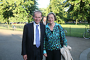 Andrew Marr with his wife Jackie Ashley, Launch of Tina Brown's book 'The Diana Chronicles' hosted by Reuters. Serpentine Gallery. 18 June 2007.  -DO NOT ARCHIVE-© Copyright Photograph by Dafydd Jones. 248 Clapham Rd. London SW9 0PZ. Tel 0207 820 0771. www.dafjones.com.