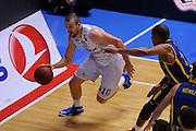 BRINDISI 02 DICEMBRE2014<br /> BASKET EUROCUP<br /> Enel Brindisi Gran Canaria<br /> NELLA FOTO Nemanja Milosevic<br /> FOTO CIAMILLO