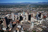 Downtown Denver & Front Range of the Rocky Mountains