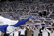 10.09.2008, Olympiastadion / Olympic Stadium, Helsinki, Finland..2010 MM-karsintaottelu Suomi - Saksa / FIFA World Cup 2010 Qualifying match Finland v Germany..Suomen faneja - Finland fans.©Juha Tamminen.....ARK:k