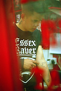 Boy in Essex Raver t shirt, UK, late 1990s (?)