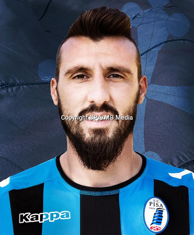 Italian League Serie B -2016-2017 / <br /> ( A.C. Pisa 1909 ) - <br /> Alessandro Longhi