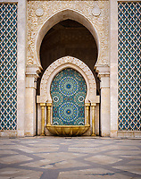 CASABLANCA, MOROCCO - CIRCA APRIL 2017: Mosque Hassan II in Casablanca.