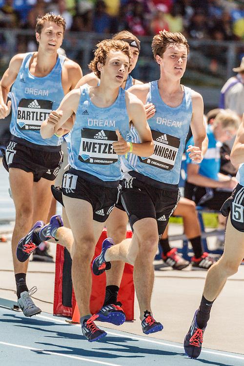 adidas Grand Prix Diamond League Track & Field: Boys Dream Mile, Logan Wetzel