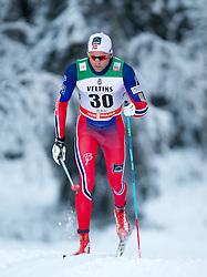30.11.2014, Nordic Arena, Ruka, FIN, FIS Weltcup Langlauf, Kuusamo, 15 km Herren, im Bild Niklas Dyrhaug (NOR) // Niklas Dyrhaug of Norway during Mens 15 km Cross Country Race of FIS Nordic Combined World Cup at the Nordic Arena in Ruka, Finland on 2014/11/30. EXPA Pictures © 2014, PhotoCredit: EXPA/ JFK