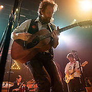 WASHINGTON, DC - January 15, 2020 - Hiss Golden Messenger singer MC Taylor performs at the 9:30 Club in Washington, D.C. with drummer Al Smith and bassist Alex Bingham. (Photo by Kyle Gustafson / For The Washington Post)