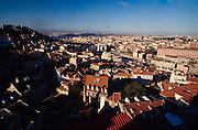 Panoramic of Lisbon.