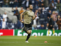 April 30, 2019 - London, England, United Kingdom - Daley Blind of Ajax.during UEFA Championship League Semi- Final 1st Leg between Tottenham Hotspur  and Ajax at Tottenham Hotspur Stadium , London, UK on 30 Apr 2019. (Credit Image: © Action Foto Sport/NurPhoto via ZUMA Press)