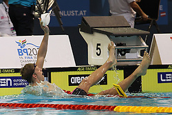 20.08.2014, Europa Sportpark, Berlin, GER, LEN, Schwimm EM 2014, 200m, Lagen, Männer, Finale, im Bild Philip Heinz (Deutschland) // during the final of men's 200m Medley of the LEN 2014 European Swimming Championships at the Europa Sportpark in Berlin, Germany on 2014/08/20. EXPA Pictures © 2014, PhotoCredit: EXPA/ Eibner-Pressefoto/ Lau<br /> <br /> *****ATTENTION - OUT of GER*****