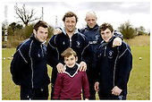Worcester Warriors Premier Rugby Camp, Sixways - 12-04-2006 - pics with players
