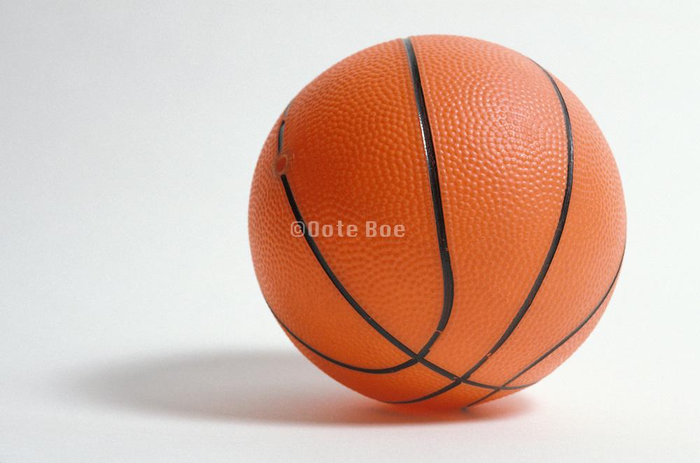 still life of a basketball